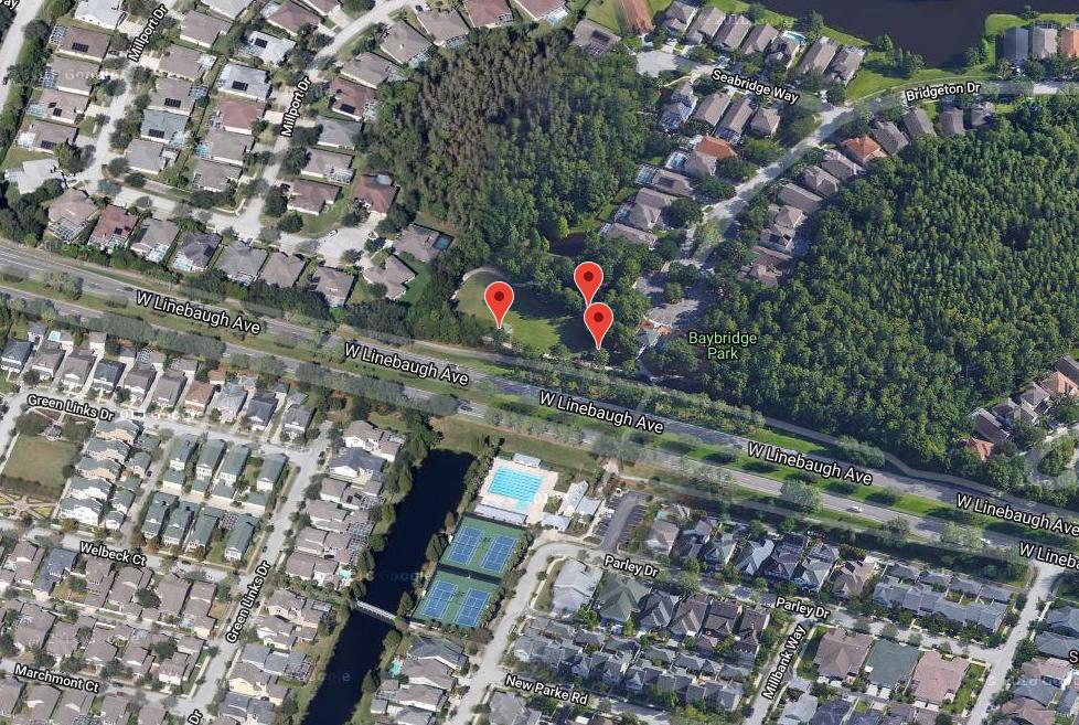 Baybridge Park Map Location